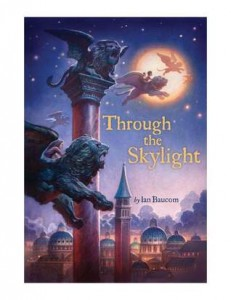 Book cover for Through the Skylight by Ian Baucom