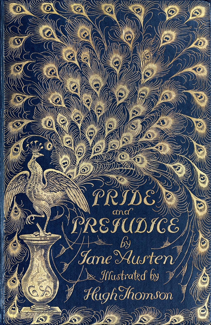 Beautiful Classic Book Covers : Happy birthday pride and prejudice tripping over books