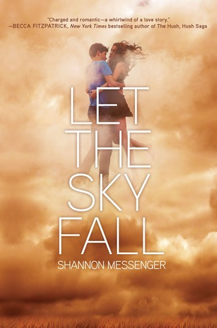 Book cover for Let The Sky Fall by Shannon Messenger