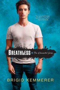 Book cover for Breathless by Brigid Kemmerer
