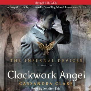 Book cover for Clockwork Angel by Cassandra Clare Audiobook