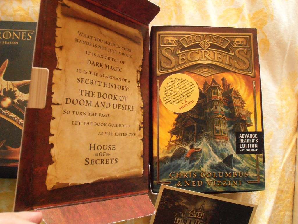 House of Secrets by Christopher Columbus and Ned Vizzini