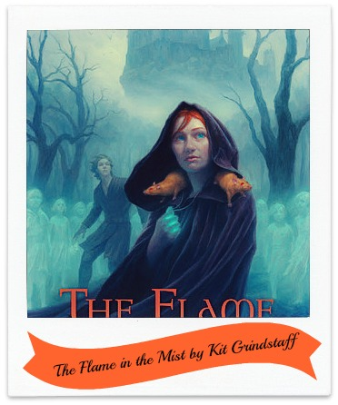 Book cover for The Flame in the Mist by Kit Grindstaff