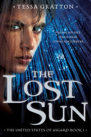 Book cover for The Lost Sun by Tessa Gratton