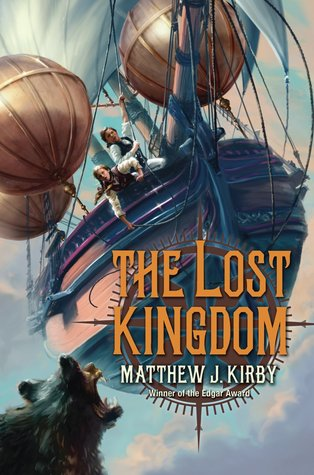 Book cover for The Lost Kingdom by Matthew J. Kirby