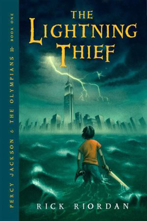 Book Cover Percy Jackson and the Lightning Thief by Rick Riordan