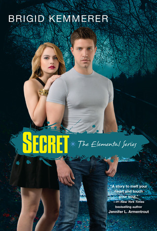 book cover Secret Brigid Kemmerer