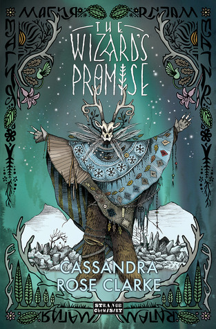 Book cover The Wizard's Promise Cassandra Rose Clare
