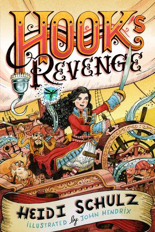 Book cover Hook's Revenge Heidi Schultz