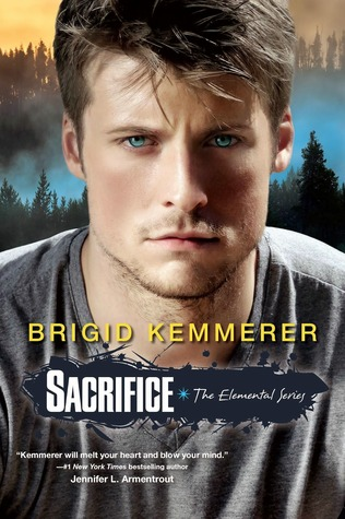 Book cover Sacrifice by Brigid Kemmerer