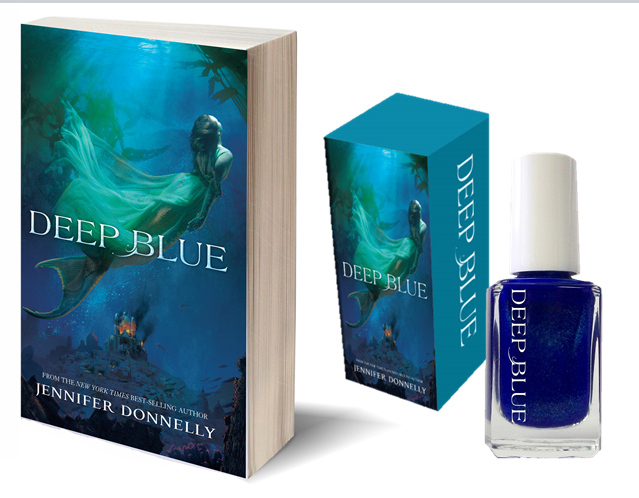 Deep Blue Jennifer Donnelly prize pack