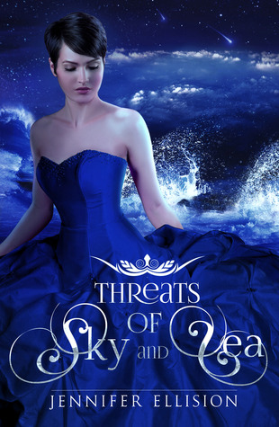 Book cover Threats of Sky and Sea Jennifer Ellision