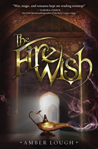 Book cover The Fire Wish Amber Lough