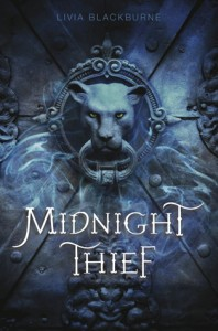 Book cover The Midnight Thief Livia Blackburne