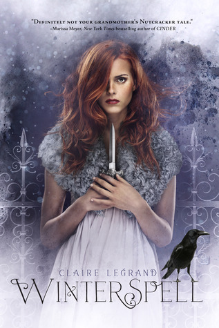 Book cover Winterspell Claire Legrand