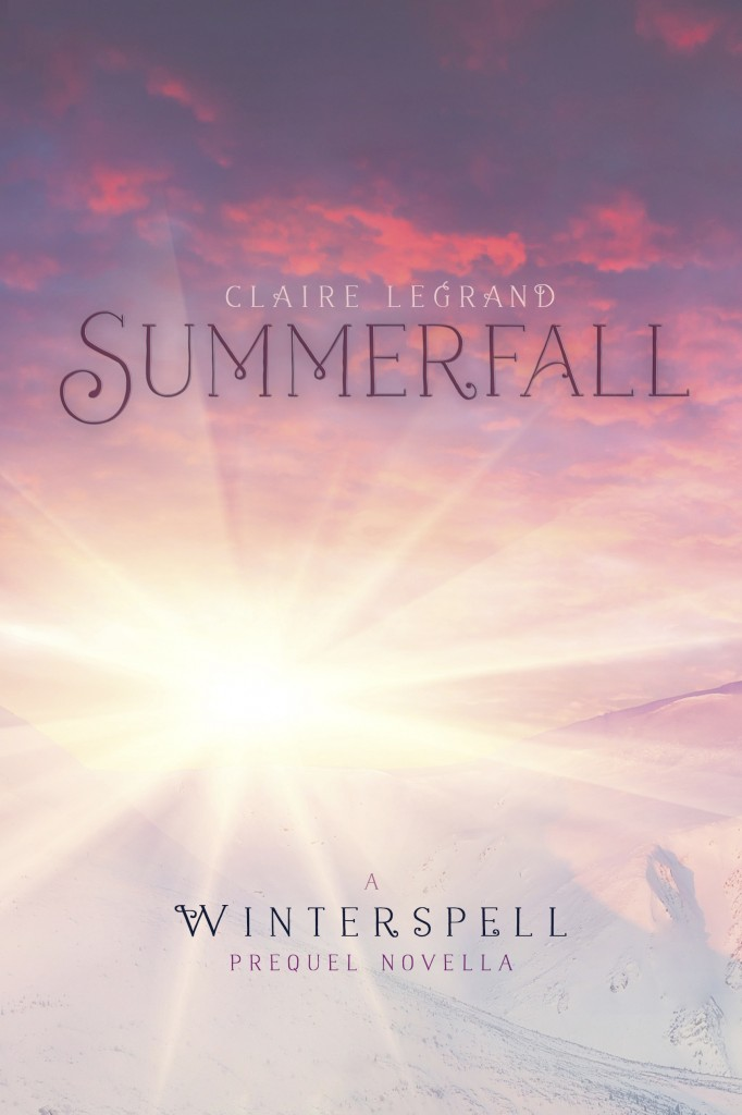 Book cover Summerfall Claire Legrand