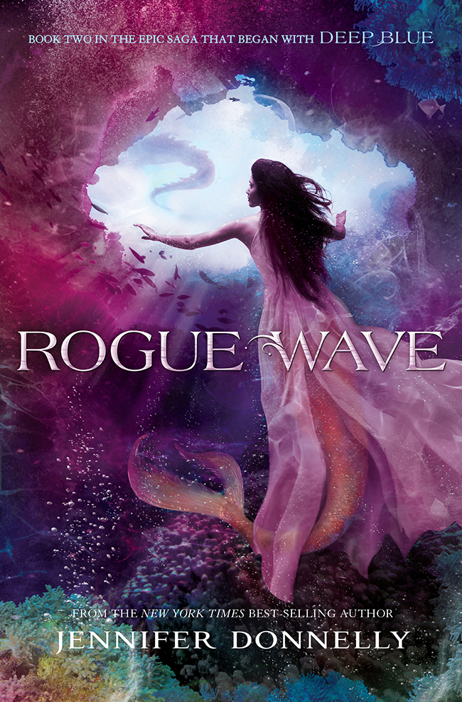 Book cover Rogue Wave Jennifer Donnelly
