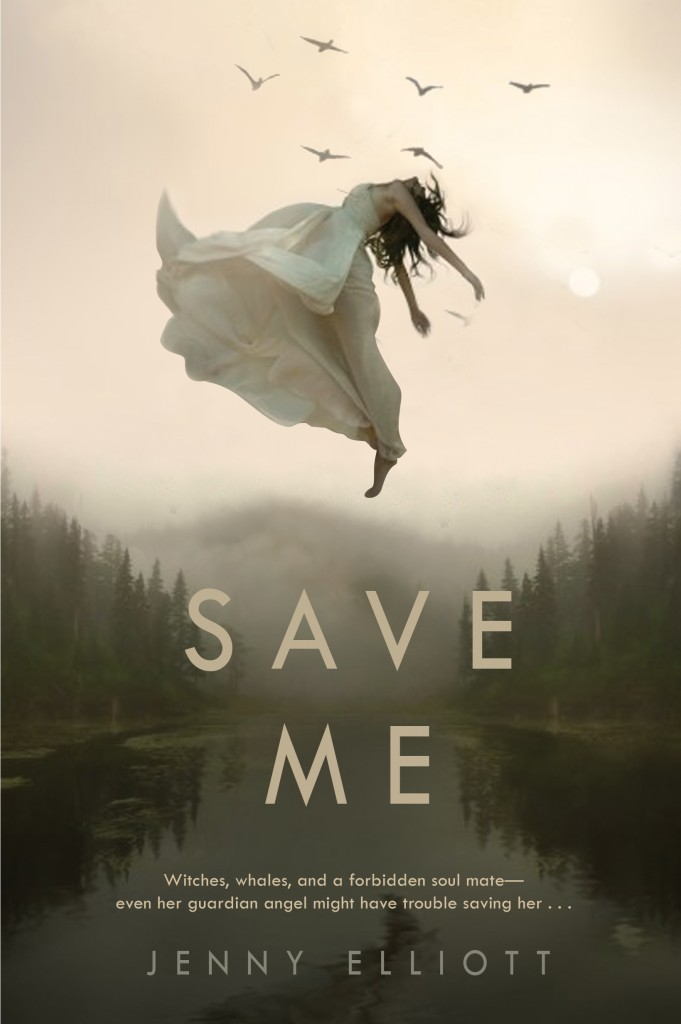Book cover Save Me Jenny Elliott
