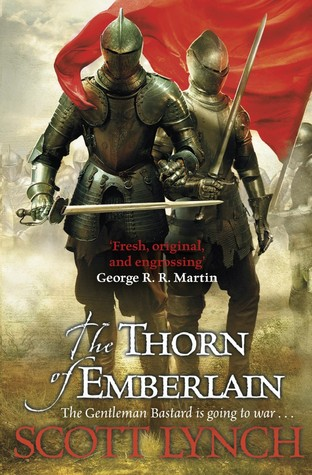 Book cover The Thorn of Emberlain Scott Lynch