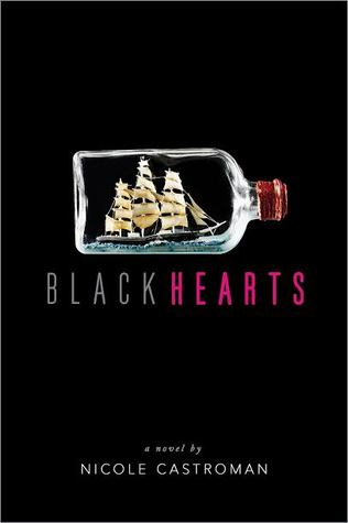 Book cover Blackhearts Nicole Castroman