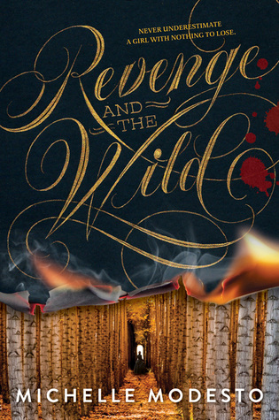 Book cover Revenge and the Wild Michelle Modesto