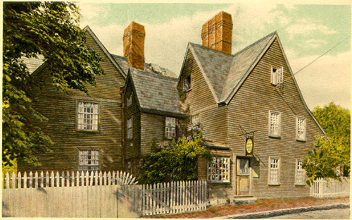 an analysis of american literature in the house of seven gables by nathaniel hawthorne Read the guest of the house of seven gables by nathaniel hawthorne the text begins: when phoebe awoke,--which she did with the early twittering of the conjugal couple of robins in the pear-tree,--she heard movements below stairs, and, hastening down, found hepzibah already in the kitchen.