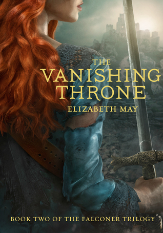Book Cover The Vanishing Throne Elizabeth May