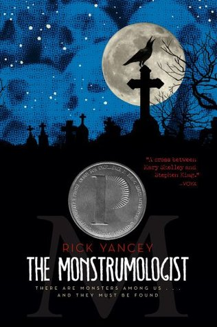 Book cover The Monstrumologist Rick Yancey