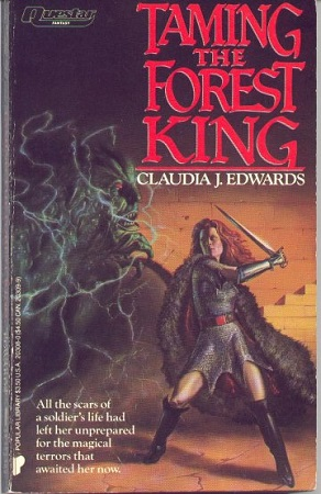 Book cover Taming the Forest King Claudia J. Edwards