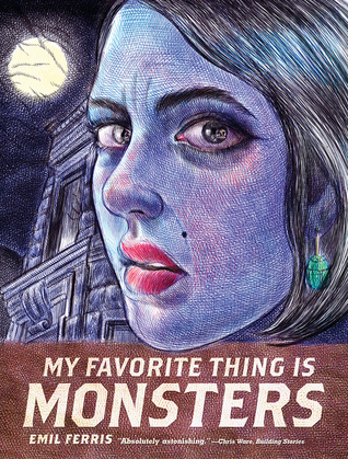 Book cover My Favorite Thing is Monsters